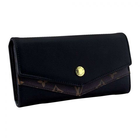 Women Hand Wallet Black, 702