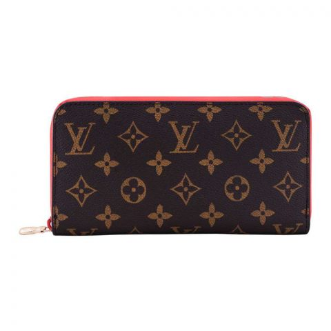 Women Hand Wallet Red/Brown, AASA60019