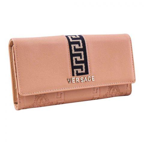 Women Hand Wallet Apricot, 5053