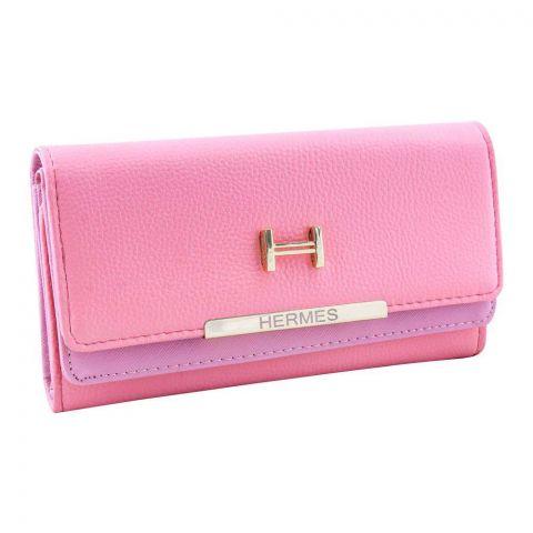 Women Hand Wallet Pink, 2751