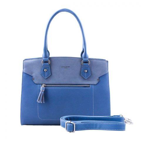Women Handbag Light Blue, 5915-4