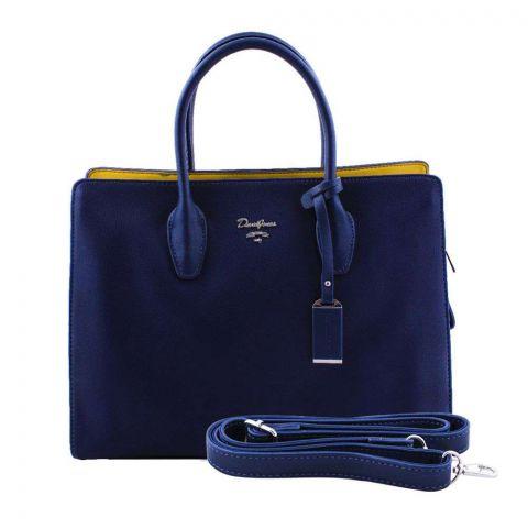 Women Handbag Dark Blue, 5919-1