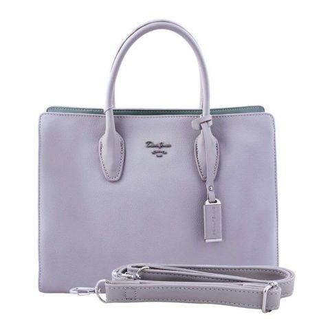 Women Handbag Grey, 5919-1
