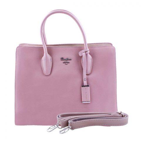 Women Handbag Pink, 5919-1