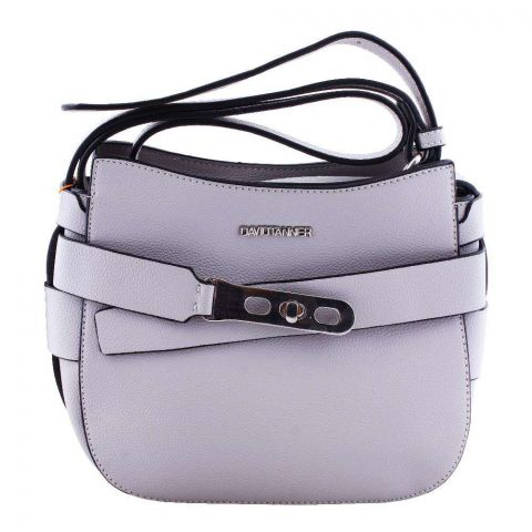 Women Handbag Light Grey, 180017-2