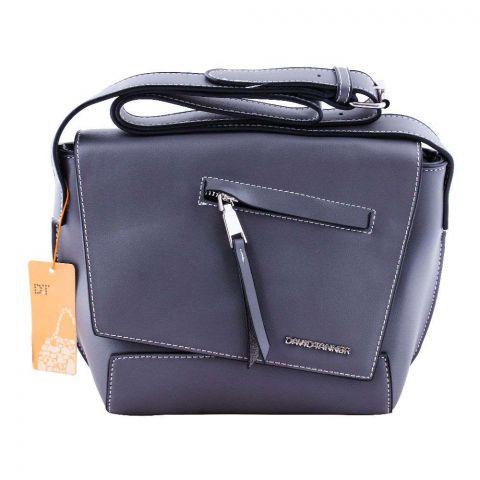 Women Handbag Dark Grey, DT0140