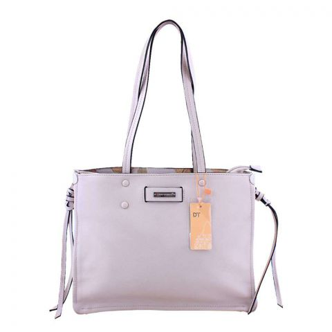 Women Handbag Beige, 180021-2
