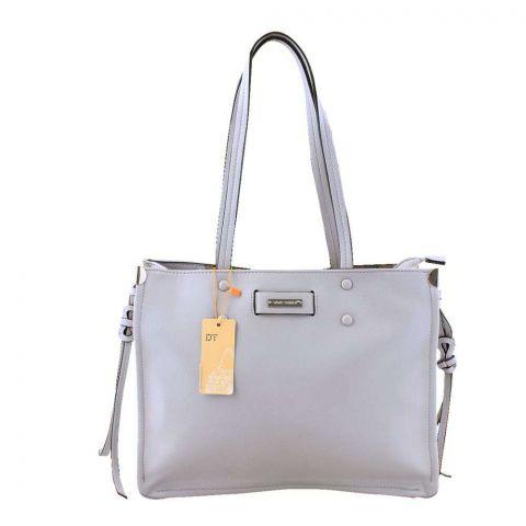Women Handbag Light Grey, 180021-2