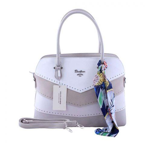Women Handbag Creamy Grey, 5926-3