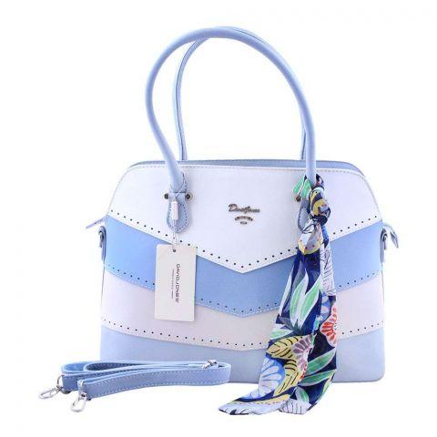 Women Handbag Pale Blue, 5926-3