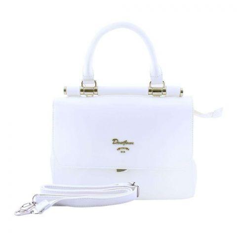 Women Handbag White, 5954-1