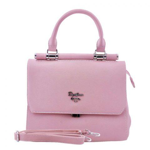 Women Handbag Pink, 5954-1