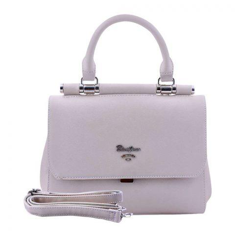 Women Handbag Beige, 5954-1