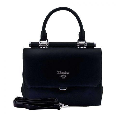 Women Handbag Black, 5954-1