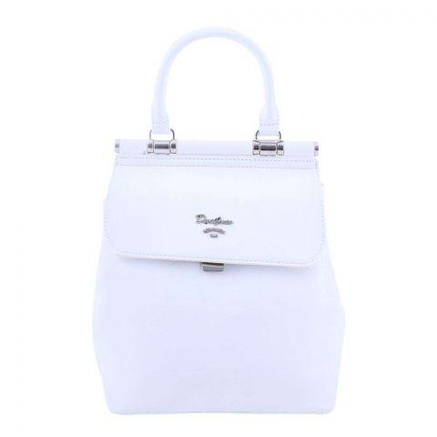 Women Handbag White, 5954-2