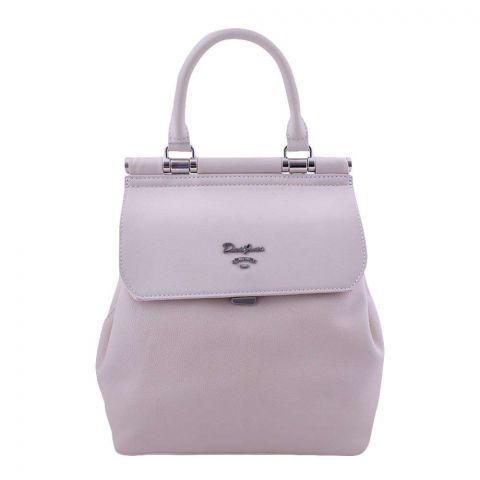 Women Handbag Beige, 5954-2