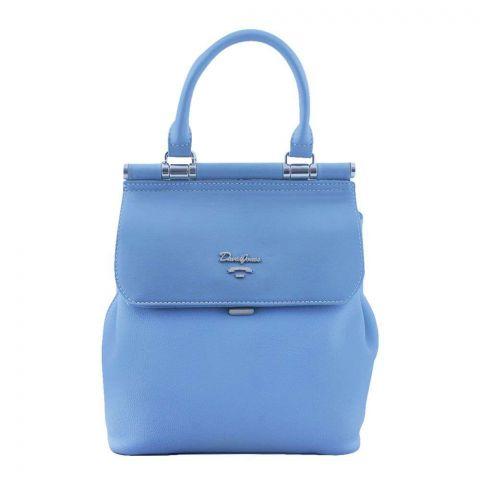 Women Handbag Light Blue, 5954-2