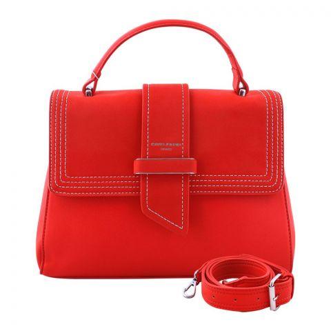 Women Handbag Red, 5931-2