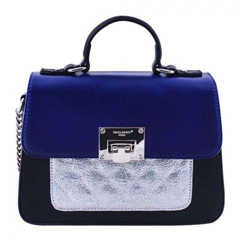 Women Handbag Blue, 5920-2