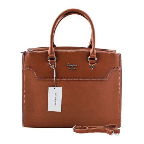 Women Handbag Cognac, CM5030