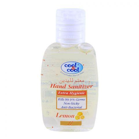 Cool & Cool Lemon Hand Sanitizer 60ml