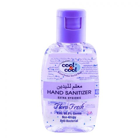 Cool & Cool Flora Fresh Hand Sanitizer 60ml