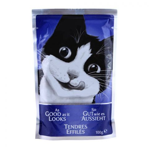 Felix As Good As It Looks With Salmon Cat Food, Pouch, 100g