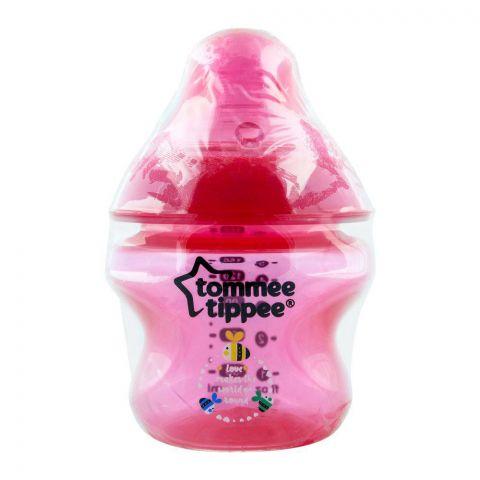 Tommee Tippee 0m+ PP Feeding Bottle, Red, 150ml - 422676/38