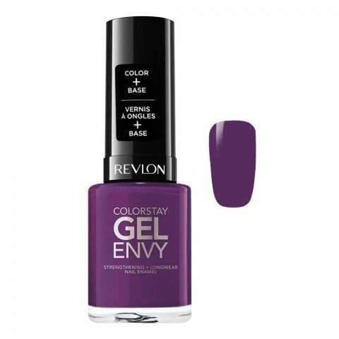 Revlon Colorstay Gel Envy Nail Enamel, 450 High Roller, 11.7ml