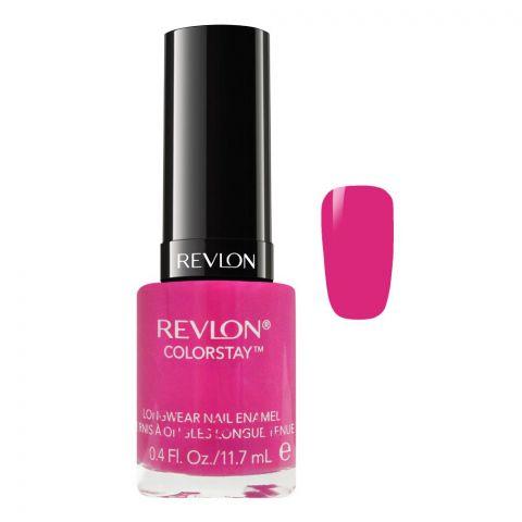 Revlon Colorstay Longwear Nail Enamel, 070 Wild Strawberry, 11.7ml