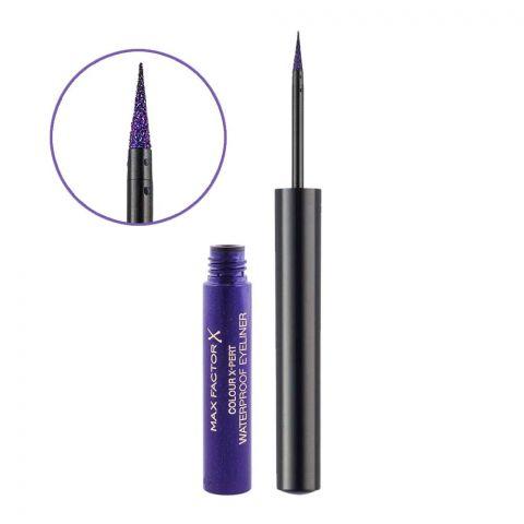 Max Factor Color X-Pert Waterproof Eyeliner, 03 Metallic Lilac