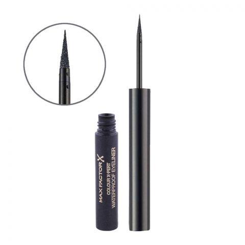 Max Factor Color X-Pert Waterproof Eyeliner, 02 Metallic Anthracite