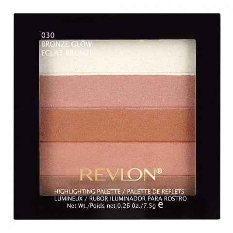 Revlon Highlighting Palette, 030 Bronze Glow