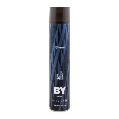 Framesi By Be You 307 Extreme Hold Hair Spray, 6, 500ml