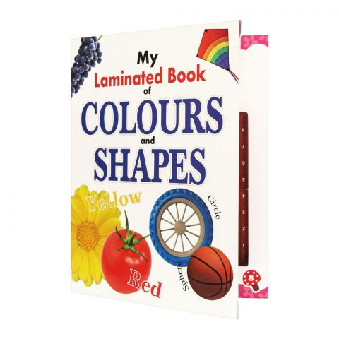 My Laminated Book Of Colours And Shapes