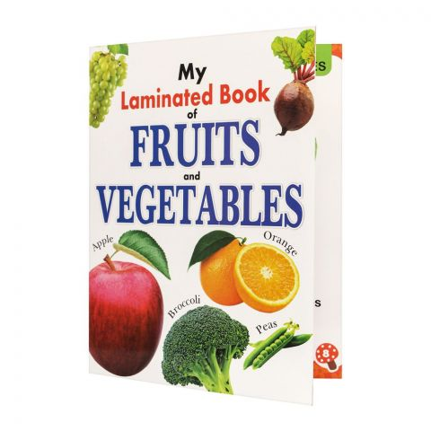 My Laminated Book Of Fruits And Vegetables