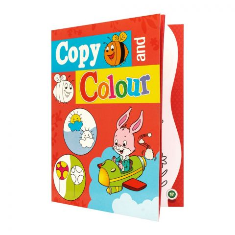 Copy And Colour Book, Red
