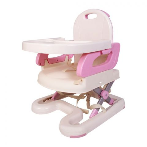 Mastela Baby Booster To Toddler Seat, Pink/Off-White,7112