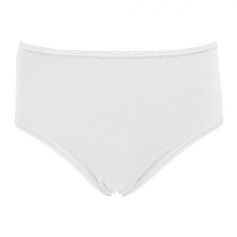IFG Deluxe Brief Panty, White