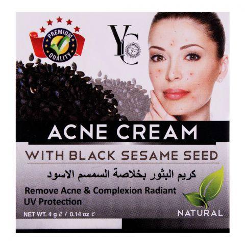 YC Acne Cream, With Black Sesame Seed, 4g