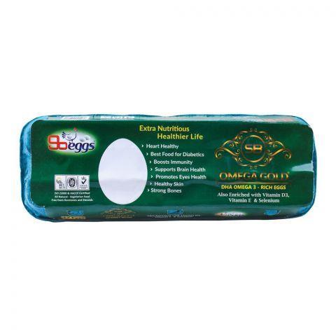 SB Eggs Omega Gold Eggs, 12-Pack