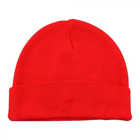 Twin Baby Round Cap, Red