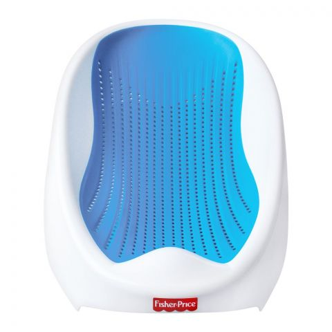 Fisher-Price Baby Bath Support Seat, 0-6 Months, Blue, 8002