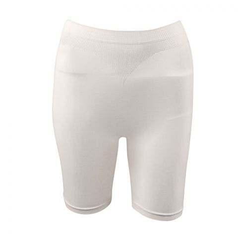 Miss Fit Long Shorts, Seamless Underwear, Skin Color, 1203