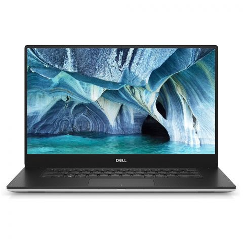 Dell XPS 15 9570 Laptop, Core i7 8750H 2.2GHz, 512GB SSD, 16GB RAM, 15.6 Inches 4K Display, Windows 10