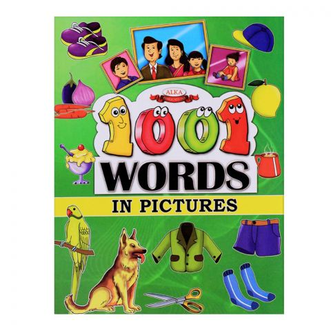 Alka 1001 Words In Pictures Books