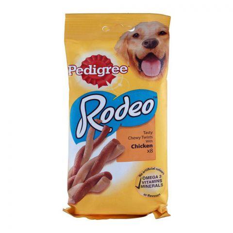 Pedigree Rodeo Chicken Dog Treats, 8-Pack, 140g