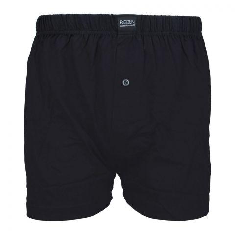 BigBen Loose Fit Boxer Shorts, Black