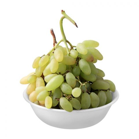 Fresh Basket Green Grapes, Local, 1 KG