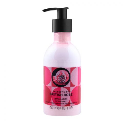 The Body Shop British Rose Hand Lotion, 250ml